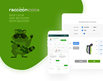 Racoon Recovery - medical CRM system