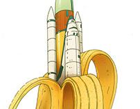 Banana - Skateboard