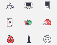 Games & Sports Icons