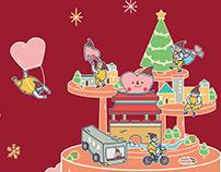 2018新竹感恩季 ▎主視覺及周邊設計