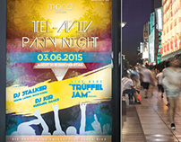 Flyer & Poster // Tel-Aviv Party Night vol.9 //