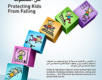 Civil Defence Campaign - Protecting Kids From Falling