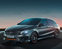 Mercedes-Benz CLA Shooting Brake Webspecial