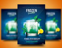 Frozen Vodka Flyer