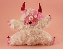 """Psychedelic Toy Little Lamb """"Rosy"""""""