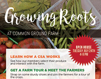 Growing Roots Farm Flyer