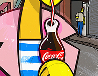 Coke Cool By kiki Viale
