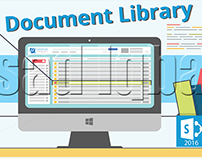New Document Library in SharePoint 2016