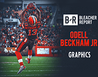 Odell Beckham Graphics for Bleacher Report video