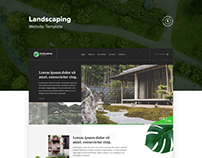 Landscaping Web Template