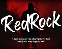 FREE | Red Rock Bold Brush Font