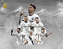 Legia Warsaw - match poster