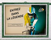 Tour de France Poster - Entrez dans la légende