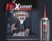TKK | Fixexpert adhesive | concept, packaging