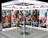 MSF DIHAB Stand