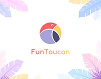 FunToucan. Logo Identity