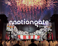 Motiongate Dubai Opening Projections Mapping