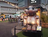 LUCAS TRAVELING - Art Installation in Taiwan
