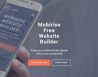 Mobirise Free WYSIWYG Web Builder v2.9.10 is out!
