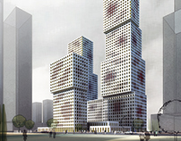 1001/BOEE Towers in Hangzhou (China)_Competition