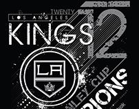 Los Angeles Kings T-Shirt Graphics
