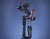 DJi Ronin S with Minolta Film Camera - 360 video