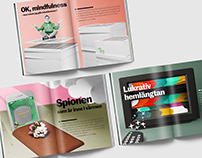 VI magazine Dec'19 - Feb'20 - Editorial illustrations