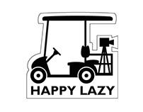 HAPPY LAZY: LOGO DESIGN