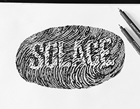 Hand Drawn Type // SOLACE