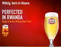 Mutzig beerfest 2015