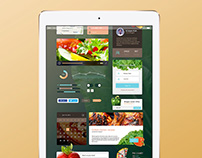 Chef's Specials Food App UI Design