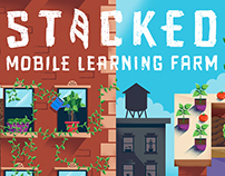 Stacked Mobile Learning Farm