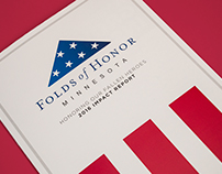 Folds of Honor Minnesota 2016 Impact Report Mailer