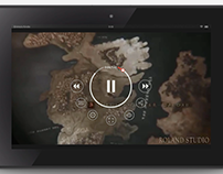 YouTube Interface Tablet Re-design