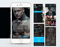 GRUNT USER INTERFACE APP DESIGN