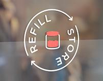 """Logo // """" Refill"""""""