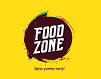 Logo design for Food zone