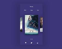 Ux Design - movie test