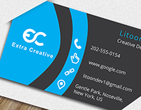 Free Business Card PSD File Download