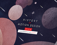 History of Motion Design Posters