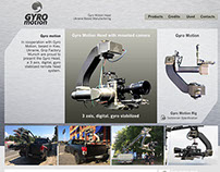 Gyromotion.net web site design