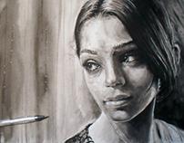 An Actress - In progress