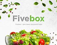 """Сервис-доставка здоровой еды """"Fivebox"""""""