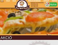 Pizzeria webdesign