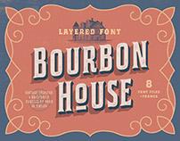 Bourbon House Font