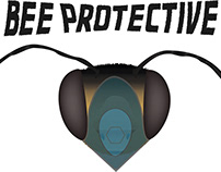 T-shirt design - Bee protective