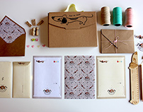 Milou The Dachshund - Kit Stationery