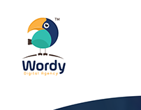 wordy logo - option 1