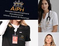Brand application on uniforms