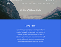 Rare WordPress Theme - About Page by Visualmodo
